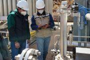 Supervisión a regasificadoras de San Julián, Guarayos y Desaguadero verifica normal suministro de gas a la población y al sector industrial