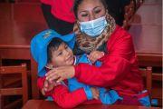 Los hijos de los trabajadores de la alcaldía alteña inauguraron su Jisk'a Utita