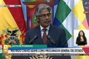 Wilfredo Chávez asume como procurador general del Estado